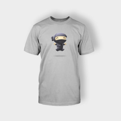 Gray T-shirt for woocommerce shop